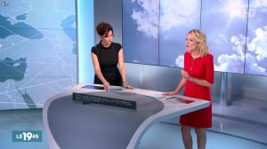 Nathalie Renoux et Vicky Bogaert dans le 19-45 - 07/11/15 - 02