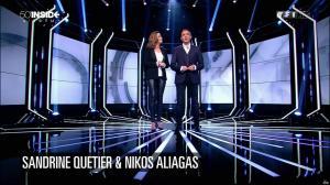 Sandrine Quétier dans 50 Minutes Inside - 09/04/16 - 01