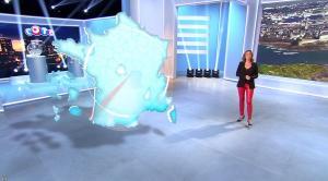 Sandrine Quétier lors du Tirage du Loto - 18/04/16 - 02