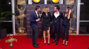 Camille Lou et Karine Ferri dans les Z Awards - 13/01/17 - 01