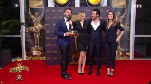 Camille Lou et Karine Ferri dans les Z Awards - 13/01/17 - 02