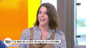 Julia Molkhou dans William à Midi - 02/10/17 - 06