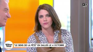 Julia Molkhou dans William à Midi - 02/10/17 - 07