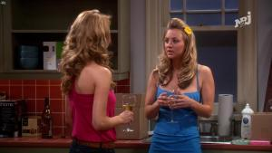 Kaley Cuoco dans The Big Bang Theory - 27/01/18 - 04