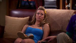 Kaley Cuoco dans The Big Bang Theory - 27/01/18 - 08