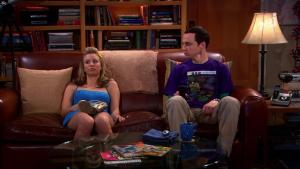 Kaley Cuoco dans The Big Bang Theory - 27/01/18 - 09