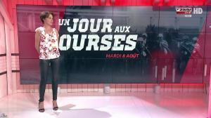 Laure Legrand dans un Jour aux Courses - 08/08/17 - 02