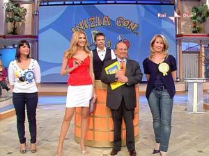 Adriana Volpe dans Mezzogiorno In Famiglia - 28/03/09 - 08