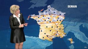 Evelyne Dhéliat dans la Meteo - 10/02/11 - 02