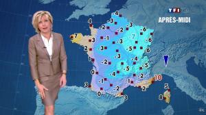 Evelyne Dhéliat dans la Meteo de 13h - 07/02/12 - 01