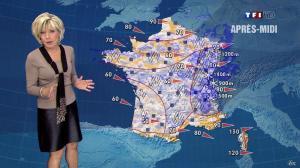 Evelyne Dhéliat dans la Meteo de 13h - 07/12/11 - 02