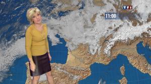 Evelyne Dhéliat dans la Meteo de 13h - 10/01/12 - 03