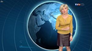 Evelyne Dhéliat dans la Meteo de 13h - 10/01/12 - 08