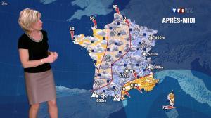 Evelyne Dhéliat dans la Meteo de 13h - 15/02/12 - 02