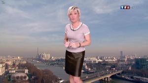 Evelyne Dhéliat dans la Meteo de 13h - 17/01/12 - 02