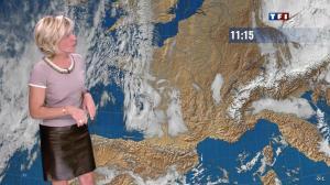 Evelyne Dhéliat dans la Meteo de 13h - 17/01/12 - 03