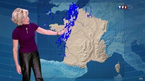 Evelyne Dhéliat dans la Meteo de 13h - 26/01/12 - 03