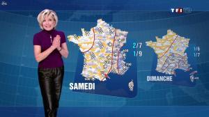 Evelyne Dhéliat dans la Meteo de 13h - 26/01/12 - 04