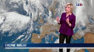 Evelyne Dhéliat dans la Meteo de 20h - 22/02/12 - 01