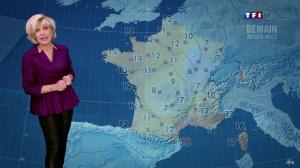Evelyne Dhéliat dans la Meteo de 20h - 22/02/12 - 02