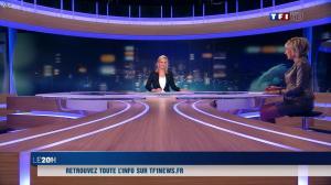 Evelyne Dhéliat et Laurence Ferrari dans la Meteo de 20h - 01/12/11 - 06