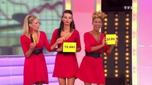 Fanny Veyrac, Nadia Aydanne, Doris Rouesne et Les Gafettes dans le Juste Prix - 06/10/11 - 04