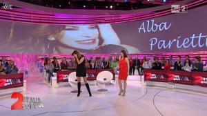 Lorena Bianchetti et Alba Parietti dans Italia Sul Due - 02/11/11 - 03