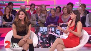 Lorena Bianchetti et Alba Parietti dans Italia Sul Due - 02/11/11 - 06