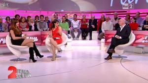 Lorena Bianchetti et Alba Parietti dans Italia Sul Due - 02/11/11 - 11
