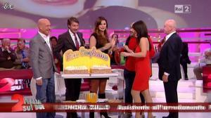 Lorena Bianchetti et Alba Parietti dans Italia Sul Due - 02/11/11 - 12