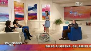 Lorena Bianchetti dans Dillo à Lorena - 03/02/11 - 01