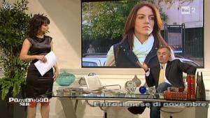 Lorena Bianchetti dans Dillo à Lorena - 08/11/10 - 11
