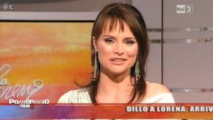 Lorena Bianchetti dans Dillo à Lorena - 11/05/11 - 02