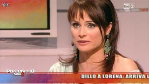Lorena Bianchetti dans Dillo à Lorena - 11/05/11 - 04