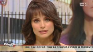 Lorena Bianchetti dans Dillo à Lorena - 15/11/10 - 08