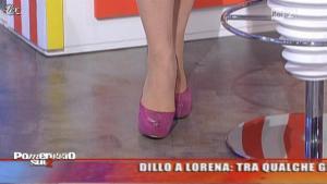 Lorena Bianchetti dans Dillo à Lorena - 19/04/11 - 02