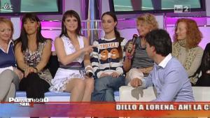 Lorena Bianchetti dans Dillo à Lorena - 19/04/11 - 13