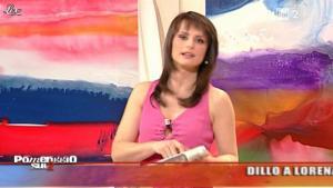 Lorena Bianchetti dans Dillo à Lorena - 25/01/11 - 08