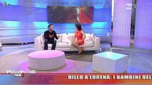 Lorena Bianchetti dans Dillo à Lorena - 28/04/11 - 13