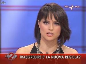 Lorena Bianchetti dans Italia Sul Due - 04/11/09 - 02