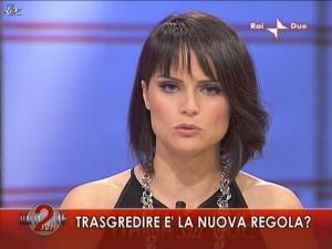 Lorena Bianchetti dans Italia Sul Due - 04/11/09 - 03