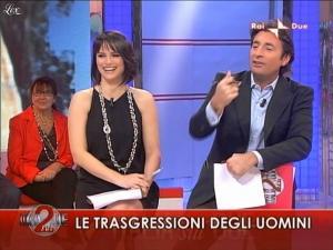 Lorena Bianchetti dans Italia Sul Due - 04/11/09 - 07