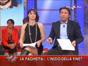 Lorena Bianchetti dans Italia Sul Due - 04/11/09 - 09