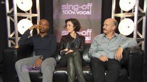 Tina Arena dans Sing Off - 08/10/11 - 01