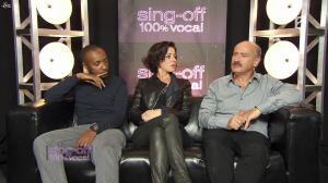 Tina Arena dans Sing Off - 08/10/11 - 02