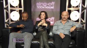 Tina Arena dans Sing Off - 08/10/11 - 04