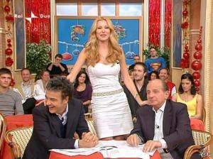 Adriana Volpe dans I Fatti Vostri - 01/01/10 - 26