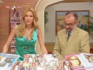 Adriana Volpe dans I Fatti Vostri - 05/04/10 - 19