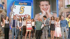 Adriana Volpe dans I Fatti Vostri - 05/04/12 - 04