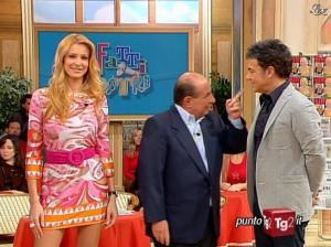 Adriana Volpe dans I Fatti Vostri - 22/02/10 - 03